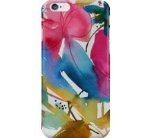 Vibrant Floral iPhone Case/Skin
