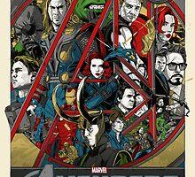 Avengers by clarkstark