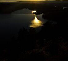 Beautiful PA Sunset by GalleryThree