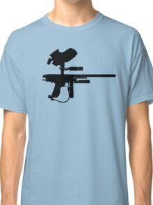 Black Paintball Marker Classic T-Shirt