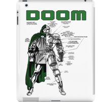 Dr.Doom iPad Case/Skin