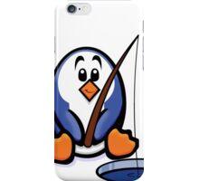 HeinyR- Fishing Penguin iPhone Case/Skin