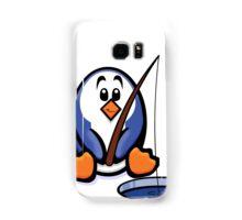 HeinyR- Fishing Penguin Samsung Galaxy Case/Skin