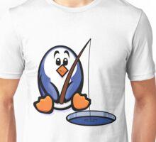 HeinyR- Fishing Penguin Unisex T-Shirt