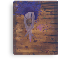 Dancing with nature Canvas Print