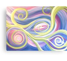 Tendrils Abstract Canvas Print