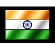 Indian Flag - India - Metallic Photographic Print