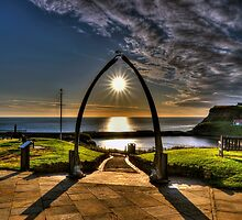 Whitby Whale Jaw Bone Arch by © Steve H Clark Photography