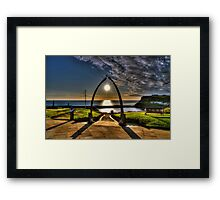 Whitby Whale Jaw Bone Arch Framed Print
