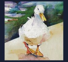 White Duck One Piece - Short Sleeve