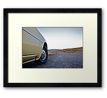 What lies ahead... Framed Print