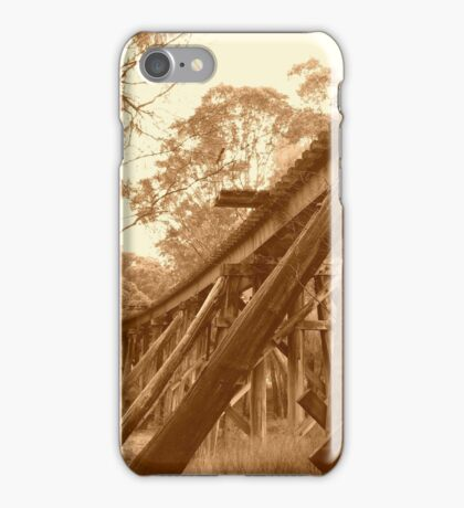 Pemberton Railway Bridge. iPhone Case/Skin