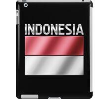 Indonesia - Indonesian Flag & Text - Metallic iPad Case/Skin