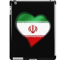 Iranian Flag - Iran - Heart iPad Case/Skin