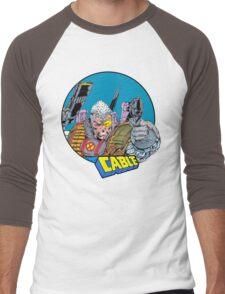 Cable • X-Men Comics Men's Baseball ¾ T-Shirt