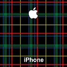 Tartan iPhone 6 Case by ImageMonkey