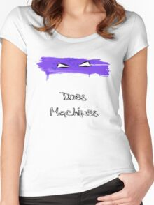 Donatello Does Machines Women's Fitted Scoop T-Shirt