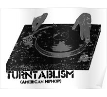 American Hip Hop - Turtablism Poster
