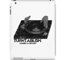 American Hip Hop - Turtablism iPad Case/Skin