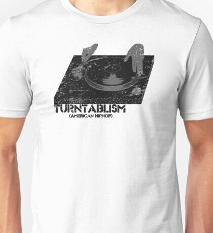 American Hip Hop - Turtablism Unisex T-Shirt
