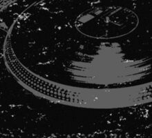 American Hip Hop - Turtablism Sticker