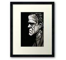 Frankenstein's Monster Framed Print