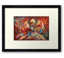 The women of Tanakh - Hava Framed Print