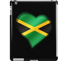 Jamaican Flag - Jamaica - Heart iPad Case/Skin