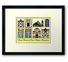 Parish Church Saint Nikolas Rosenheim Framed Print