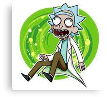 Rick is so Rick Canvas Print