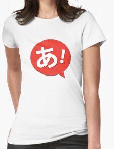 Azumanga Daioh - あ! Womens Fitted T-Shirt