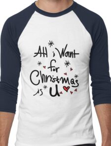 All i want for Christmas is you Men's Baseball ¾ T-Shirt