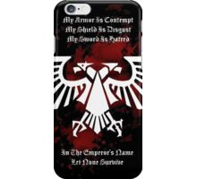 My Armor, My Shield, My Sword - Warhammer 40k iPhone Case/Skin