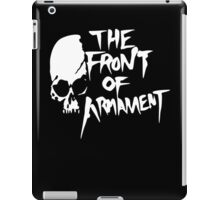 The Front of Armament - Text iPad Case/Skin