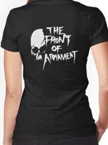 The Front of Armament - Text Women's Fitted V-Neck T-Shirt