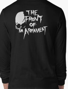The Front of Armament - Text Long Sleeve T-Shirt