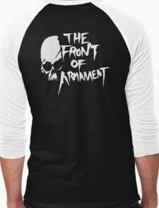 The Front of Armament - Text Men's Baseball ¾ T-Shirt