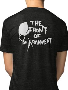 The Front of Armament - Text Tri-blend T-Shirt