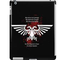 My Armor, My Shield, My Sword - Warhammer 40k iPad Case/Skin