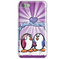 HeinyR- Penguin Love iPhone Case/Skin