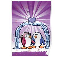 HeinyR- Penguin Love Poster