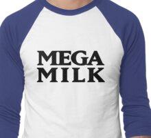 Mega Milk Men's Baseball ¾ T-Shirt