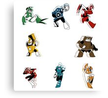 We are Robot Masters Canvas Print