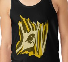 Animal skin Zebra Tank Top