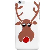Rudolph The Reindeer iPhone Case/Skin