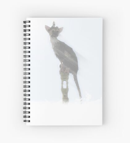 Cute Trico/ The last guardian Spiral Notebook