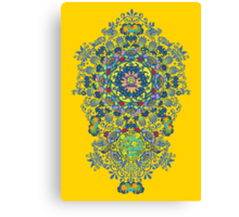 Yellow Porcelain Canvas Print