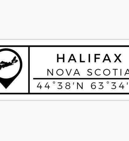 Halifax Sticker
