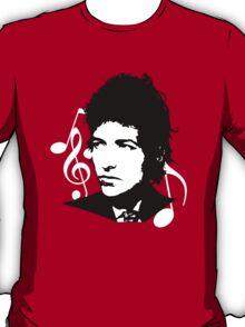 Bob Dylan - Stylized White Ver. T-Shirt