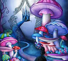 Alice Gates to Wonderland by Annya Kai